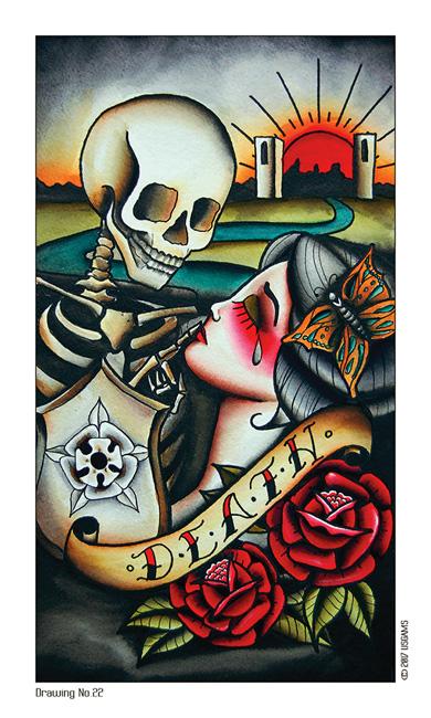 Tattoo Tarot Death Card