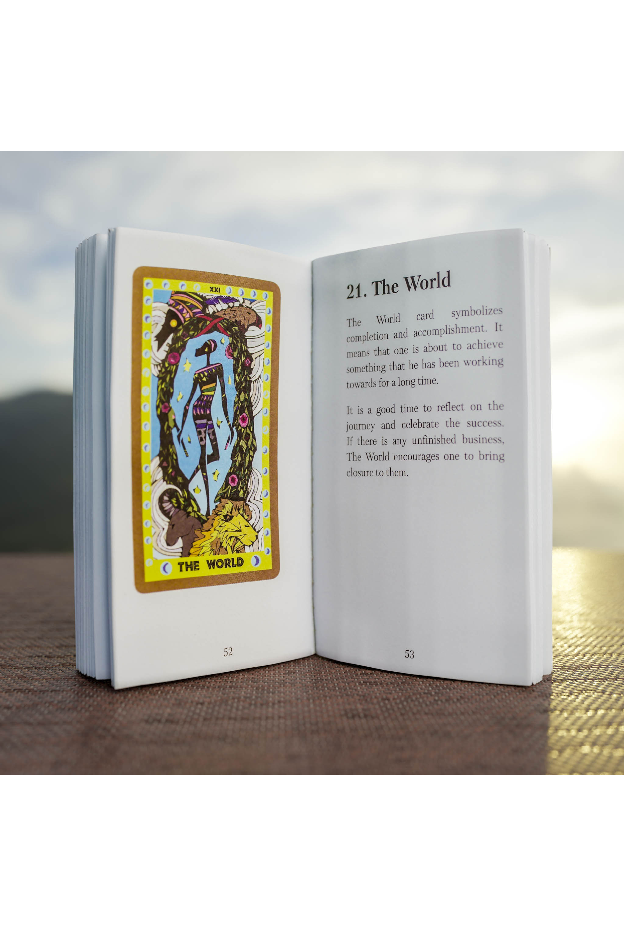 African Tarot Included Booklet