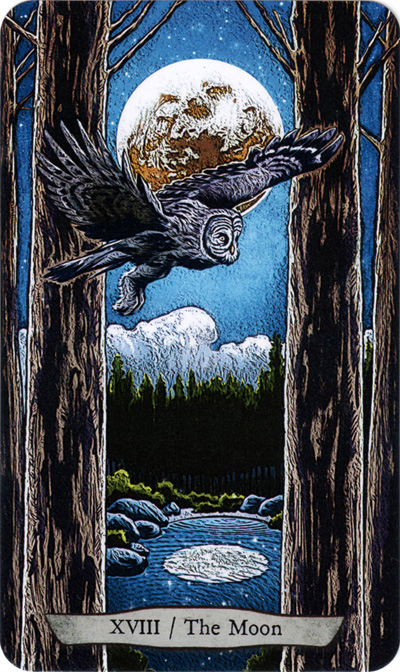 Animal Totem Tarot Moon