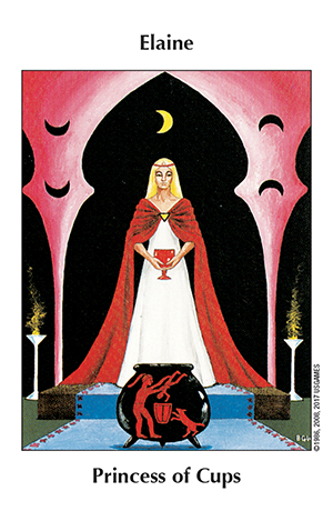 Barbara Walker Tarot Princess of Cups