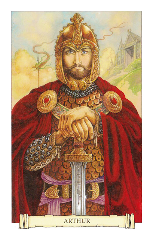 Camelot Oracle Arthur Card