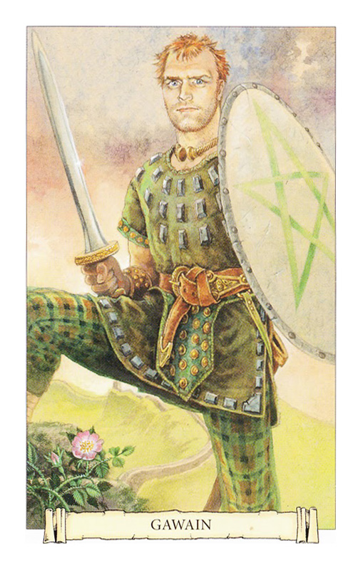 Camelot Oracle Gawain Card