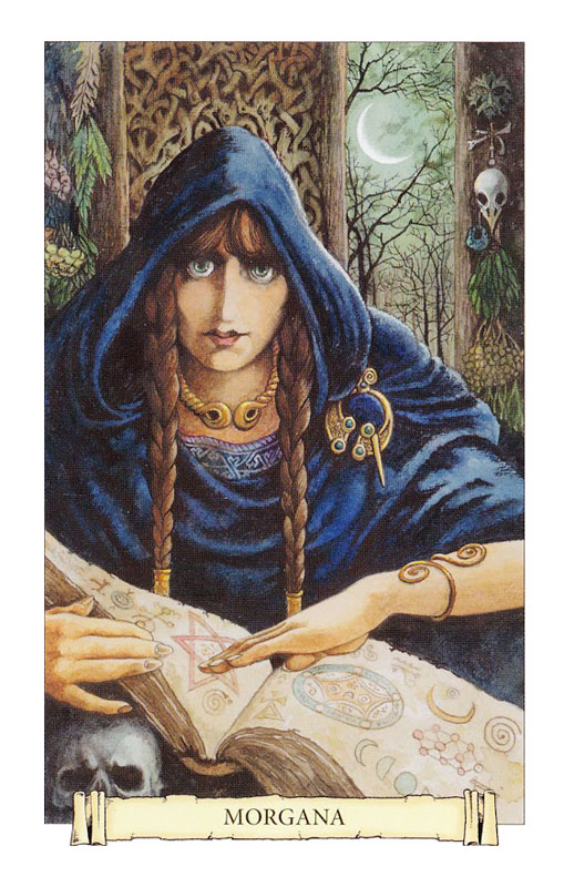 Camelot Oracle Morgana Card