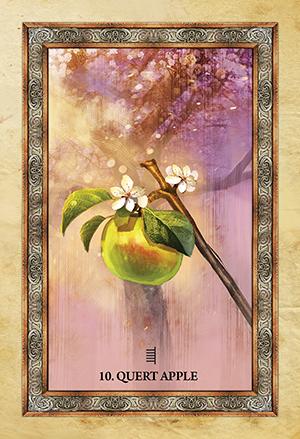 Celtic Tree Oracle Apple Card