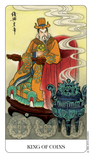 Chinese Tarot King of Coins