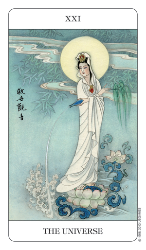 Chinese Tarot The Universe