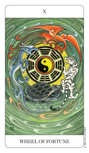 Chinese Tarot Wheel of Fortune