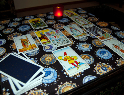 Celestial Nights Tarot Cloth