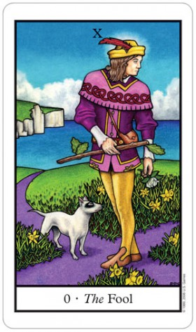 Connolly Tarot Fool Card