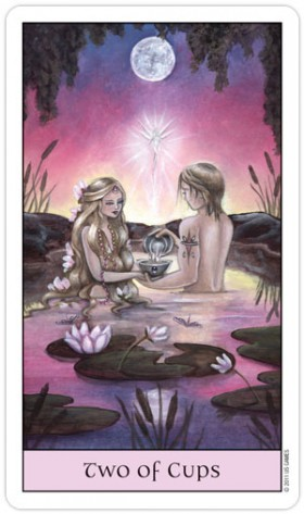 Crystal Visions Tarot 2 of Cups