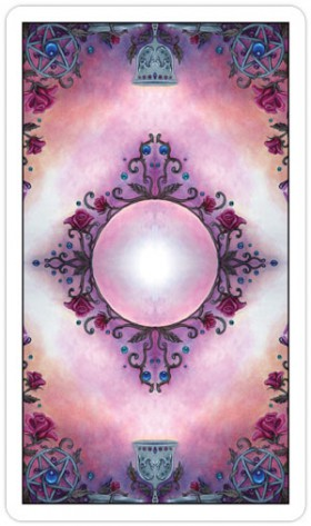 Crystal Visions Tarot Card Backs