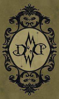 Dark Wood Tarot Back of Cards