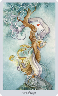 Shadowscapes Tarot Two of Cups