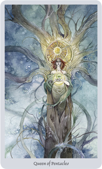 Shadowscapes Tarot Queen of Pentacles