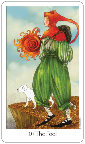 Dreaming Way Tarot Fool Card