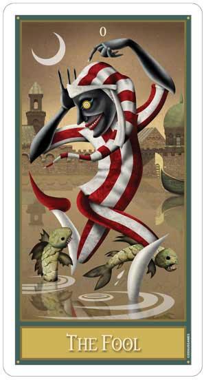 Deviant Moon Tarot Fool