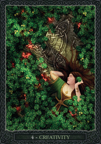 Earth Wisdom Oracle Creativity Card