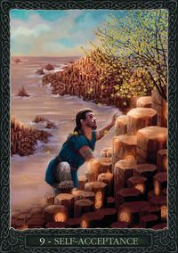 Earth Wisdom Oracle Self Acceptance Card