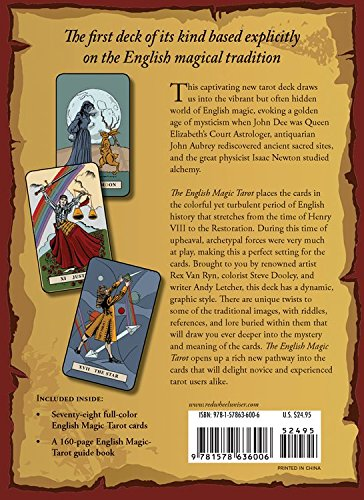 English Magic Tarot Book