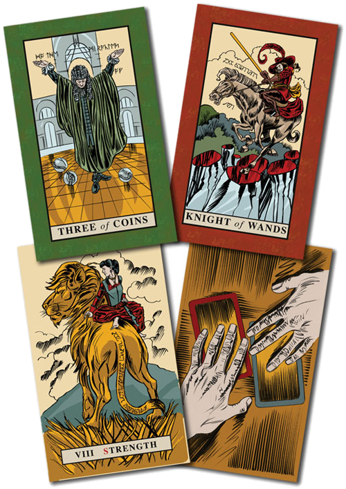 English Magic Tarot Deck