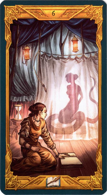 Epic Tarot 6 of Wands