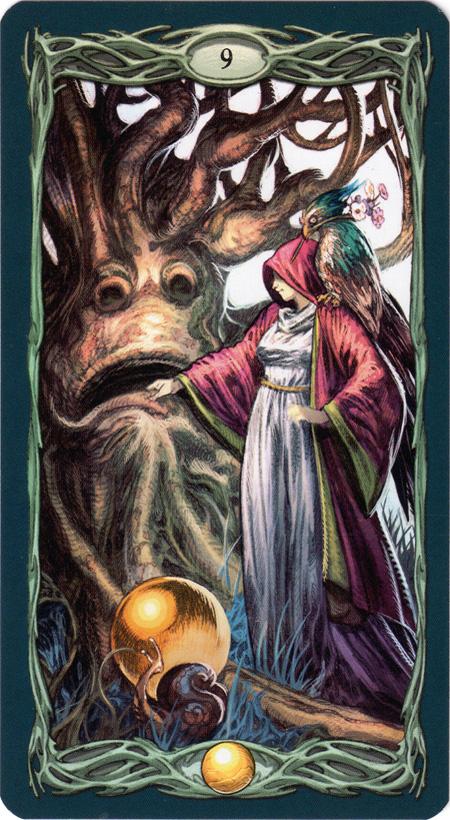 Epic Tarot 9 of Pentacles