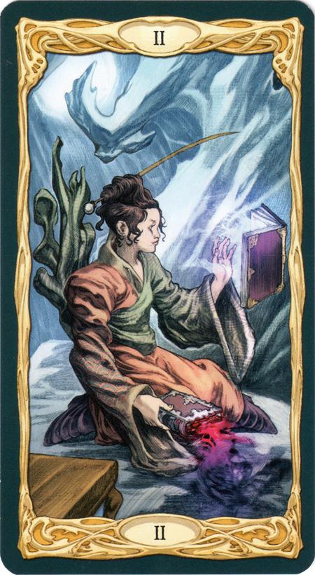 Epic Tarot High Priestess