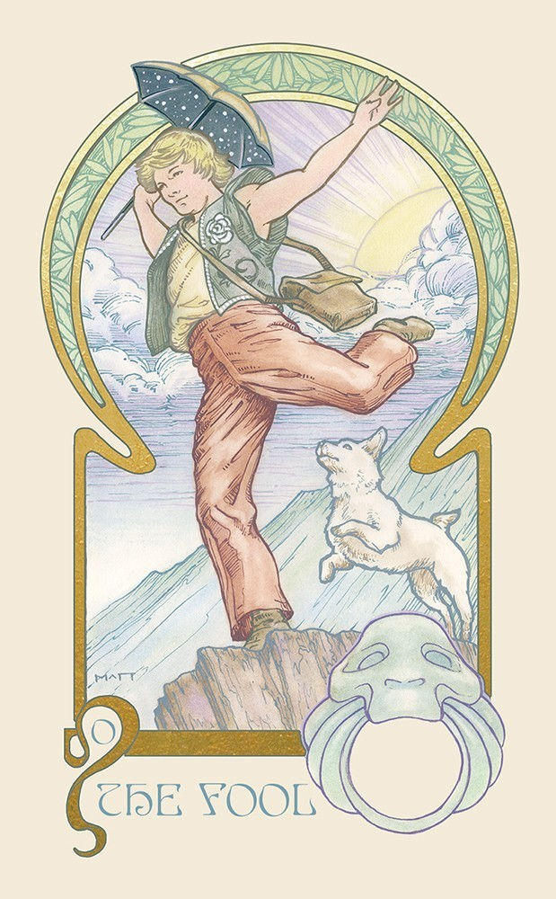 The Ethereal Visions Tarot Fool Card