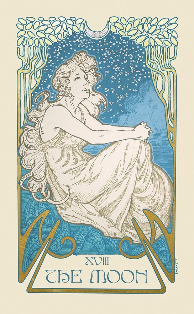 The Ethereal Visions Tarot Moon Card