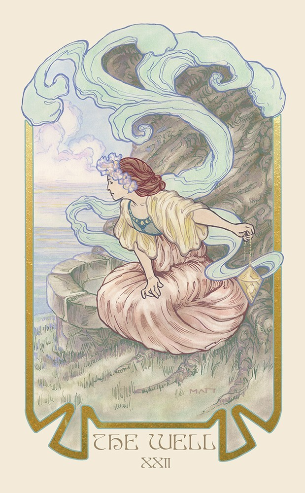 The Ethereal Visions Tarot Well Card