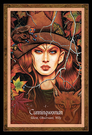 Faery Forest Oracle Cunningwoman Card