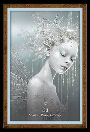 Faery Forest Oracle Isa Card