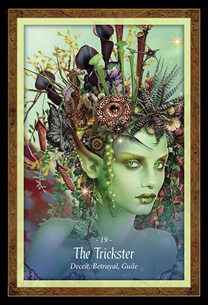 Faery Forest Oracle Trickster Card