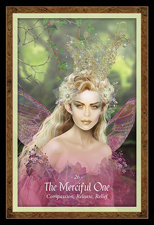 Faery Forest Oracle Merciful Card