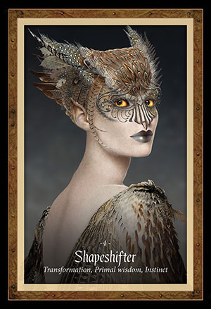 Faery Forest Oracle Shapeshifter Card