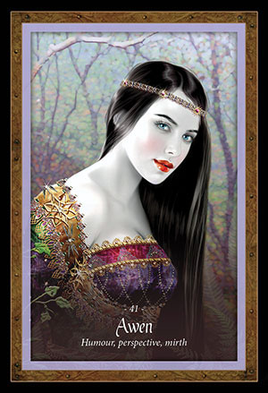 Faery Forest Oracle Awen Card