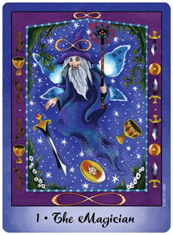 Faerie Tarot Magician