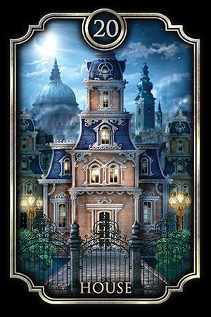 Fin de Siècle House Card