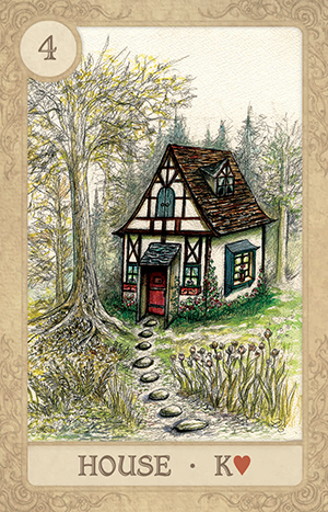 Fairy Tale Lenormand House Card