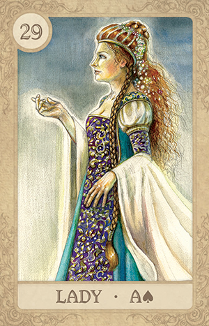 Fairy Tale Lenormand Lady Card