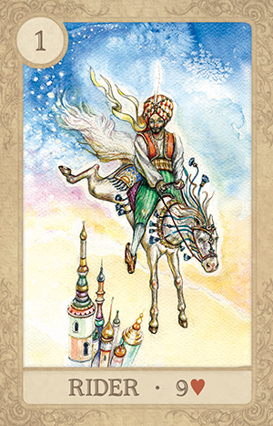 Fairy Tale Lenormand Rider Card