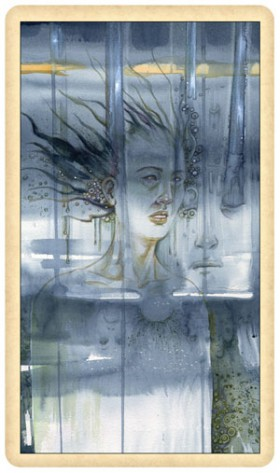 Ghosts and Spirits Tarot 2 of Cups Card