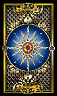 Gilded Tarot Card Backs