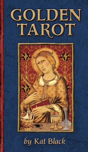Golden Tarot Book