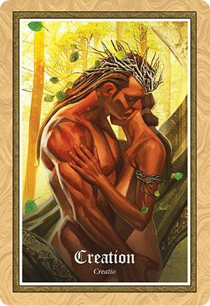 Gospel of Aradia Oracle Creation Card