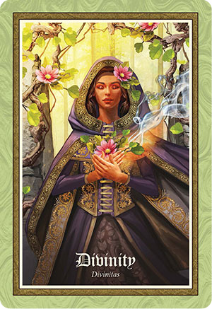 Gospel of Aradia Oracle Divinity Card