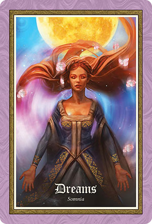 Gospel of Aradia Oracle Dreams Card