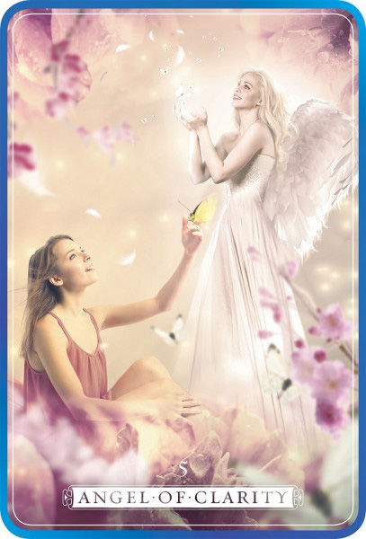 Clarity Angel Card