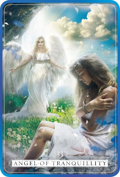 Tranquillity Angel Card