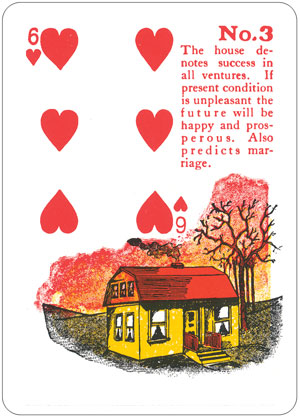 Gypsy Witch 6 of Hearts
